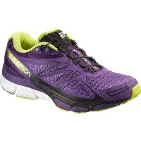 サロモン Salomon レディース ランニング シューズ・靴【X - Scream 3D Running Shoe】Rain Purple/Cosmic Purple/Gecko Green