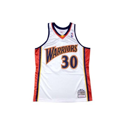 ●MITCHELL&NESS AUTHENTIC THROWBACK JERSEY (NBA/GOLDEN STATE WARRIOURS/09-10/STEPHEN CURRY: WHITE...