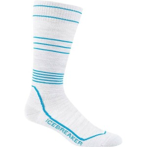 アイスブレーカー レディース インナー ソックス【Icebreaker Ski+ Compression Ultralight Over the Calf Sock】Blizzard Heather...