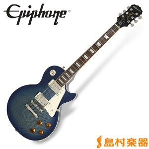Epiphone Les Paul Standard PlusTop PRO Trans Blue レスポール スタンダード エレキギター 【エピフォン】