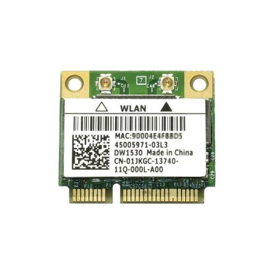 Dell Wireless WLAN 1530 DW1530 内蔵ワイヤレスLAN Half-Miniカード (300Mbps 802.11a/b/g/n対応) BCM943228HM4L...