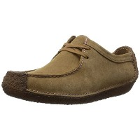 [クラークス] Clarks Natalie 00167148 Oakwood Suede(Oakwood Suede/UK6)