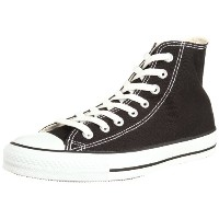 [コンバース] CONVERSE CANVAS ALL STAR HI CVS AS HI M9160 (ブラック/7.5)
