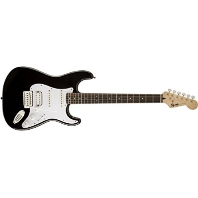 Squier by Fender エレキギター Bullet® Strat® with Tremolo HSS, Rosewood Fingerboard, Black