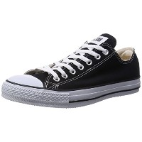 [コンバース] CONVERSE CANVAS ALL STAR OX BLACK (ブラック/US6(24.5cm))
