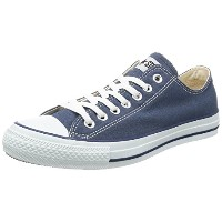[コンバース] CONVERSE CANVAS ALL STAR OX  NAVY (ネービー/US4.5(23.5cm))