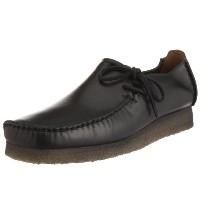 [クラークス] Clarks Lugger 00111103 Black Smooth Leather(Black Smooth Leather/UK7.5)