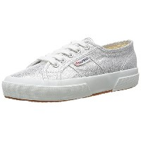 Superga 2750 LAMEW, Baskets mode mixte adulte - Argent (Silver), 41 EU