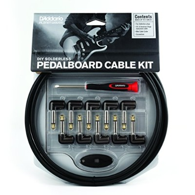 Planet Waves by D'Addario プラネットウェーブス ケーブルキット American Stage Cable DIY Solderless Pedalboard Cable...