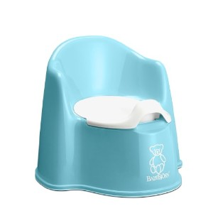 Babybjorn Potty Chair, Turquoise by BabyBjテ・ツカrn [並行輸入品]