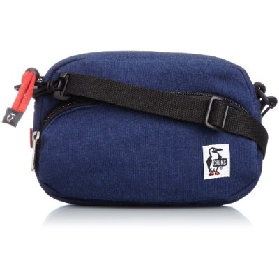 [チャムス]CHUMS Shoulder Pouch Sweat H/Navy