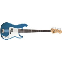 Fender フェンダー エレキベース Standard Precision Bass, Rosewood Fingerboard -  Lake Placid Blue