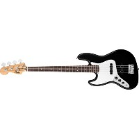 Fender フェンダー 左効き用 エレキベース Standard Jazz Bass Left Handed Rosewood Fingerboard Black