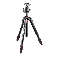 Manfrotto 三脚 190Go! アルミ 4段 ボール雲台キット MK190GOA4TB-BH