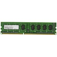 アドテック DOS/V用 DDR3-1333/PC3-10600 Unbuffered DIMM 2GB 省電力モデル ADS10600D-H2G
