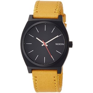 [ニクソン]NIXON TIME TELLER: ALL BLACK/GOLDENROD NA0452448-00  【正規輸入品】