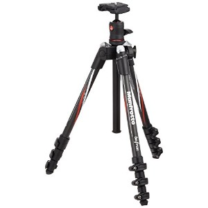 Manfrotto コンパクト三脚 Befree カーボンファイバー 4段 ボール雲台キット MKBFRC4-BH