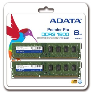 ADATA Technology DDR3 U-DIMM (1600)-8G(4Gx2枚組)/256x8