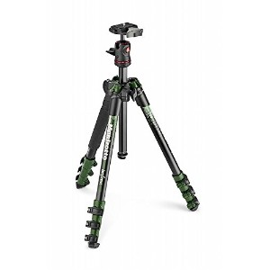 Manfrotto コンパクト三脚 Befree アルミ ボール雲台キットNEWデザイン グリーン MKBFRA4GR-BH