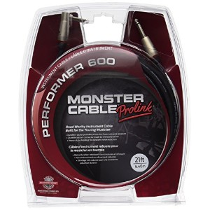 Monster Cable P600-I-21A Performer600楽器用ケーブル/ プラグ S-L /ケーブル長:約3.6m