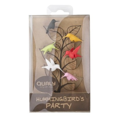 QUALY グラスマーカー Hummingbird's Party 09000800