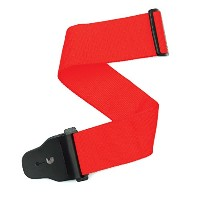 Planet Waves by D'Addario プラネットウェーブス ギターストラップ Core Collection 75mm Polypropylene Strap 75B001 Red ...
