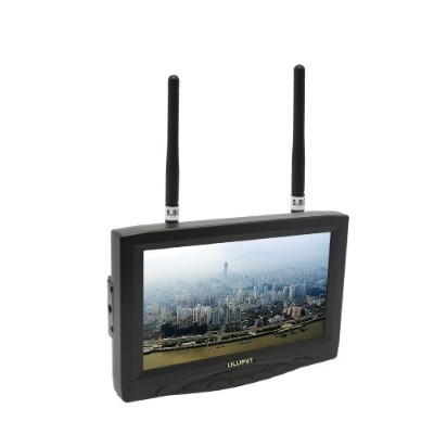 Lilliput 329/W. 7インチ (800x480) FPV monitor with Dual Wireless AV Receiver 18341