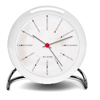 【正規輸入品】Arne Jacobsen Bankers Table Clock 43675