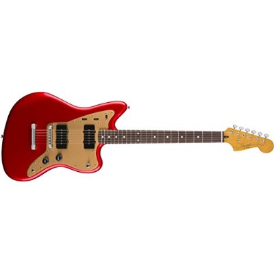 Squier by Fender エレキギター Deluxe Jazzmaster® ST, Rosewood Fingerboard, Candy Apple Red