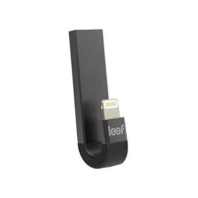 Leef iPhone・iPad Lightning接続メモリ USB3.1 iBRIDGE3 Apple Touch ID 対応 32GB ブラック 国内正規品 LIB300KK032E1