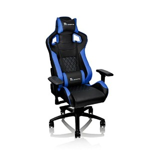 Thermaltake Tt eSPORTS GT Fit Gaming chair -Black&Blue- ゲーミングチェア FT0004 GC-GTF-BLMFDL-01