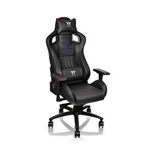 Thermaltake Tt eSPORTS X Fit Gaming chair -Black- ゲーミングチェア FT0001 GC-XFS-BBMFDL-01