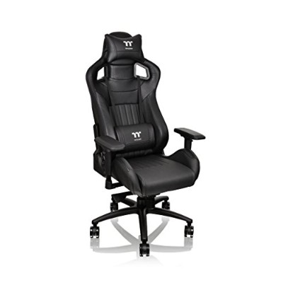 Thermaltake ゲーミングチェアTt eSPORTS X Fit Gaming chair -Black-  FT0001 GC-XFS-BBMFDL-01