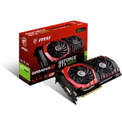 MSI GeForce GTX 1080 GAMING X 8G 『Twin Frozr VI/OCモデル』 グラフィックスボード VD6060