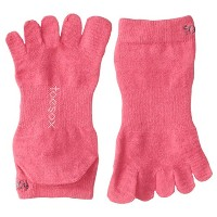 ToeSox Sport Perfdry Ultralite Weight Ankle Pink Medium Pink M(25cm~27cm)