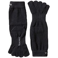 ToeSox Sport Perfdry Ultralite Weight Crew Black Small Black S(22.5cm~24.5cm)