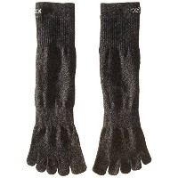 ToeSox Sport Perfdry Light Weight Crew Brindle Black Large Black L(27.5cm~29.5cm)