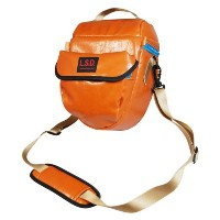 L.S.D. California Series Camera Pouch PHOTORING #Orange/Earth Brown