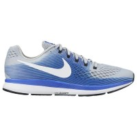 (取寄)Nike ナイキ メンズ エア ズーム ペガサス 34 Nike Men's Air Zoom Pegasus 34 Wolf Grey White Racer Blue