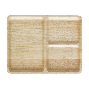【正規輸入品】 ACACIA カフェ プレート CAFE PLATE SQUARE Natural L AA-014NT