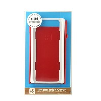 iPhone Trick Cover for iPhone6【白赤】 IPTC006WR