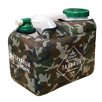 TAVARUA(タバルア)HOT POLY TANK NEO PLANE CASE SET ポリタンクケース (GREEN CAMO)