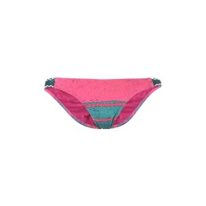 レディース ÁGUA DE COCO por LIANA THOMAZ EMBROIDED SCOOP BOTTOM 水着(ビキニパンツ) フューシャ