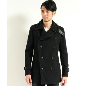 【VADEL(バデル)】motocycle pea-coat コート