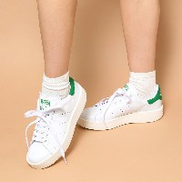 adidas Originals STAN SMITH BD W (アディダス オリジナルス スタンスミス BD W)RUNNING WHITE/RUNNING WHITE/GREEN【レディース...