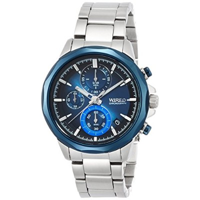 [ワイアード]WIRED 腕時計 WIRED THE BLUE 「WATER BLUE」 CHRONOGRAPH MODEL AGAT409 メンズ