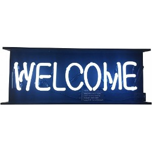 HOUSE USE PRODUCTS 店舗装飾用 ネオンサイン WELCOME HFT350
