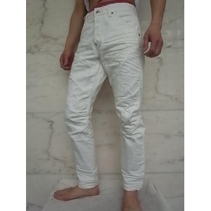 """G-STAR RAW[ジースター]【5620 3D TAPERED】SCATTER WHITE DENIM""""IT AGED RESTORED 130""""エルウッドJeans☆"""