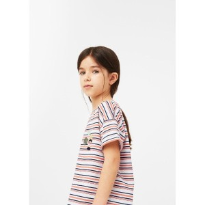 【SALE 30%OFF】T-シャツ . SIDNEY (ミディアムピンク) 子供・キッズ MANGO