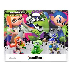 Amiibo Splatoon Series 3-Pack
